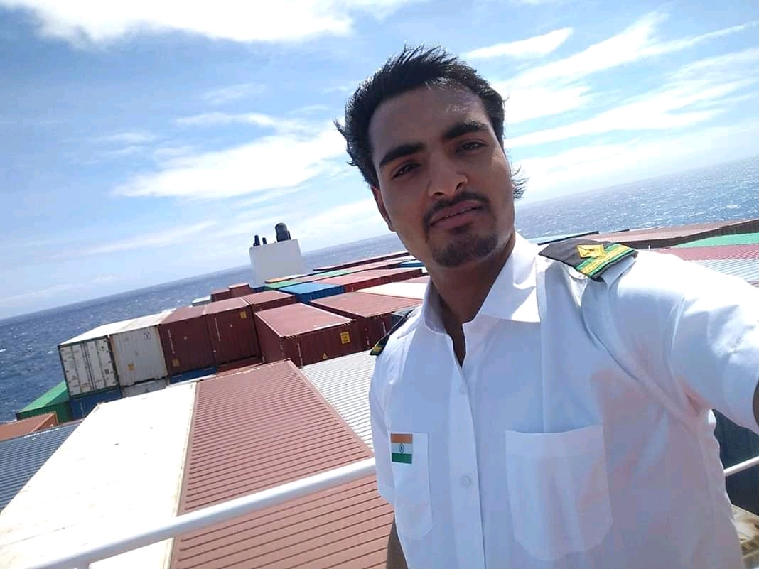 Sachin Patil - Our alumni joins Government Merchant Navy
