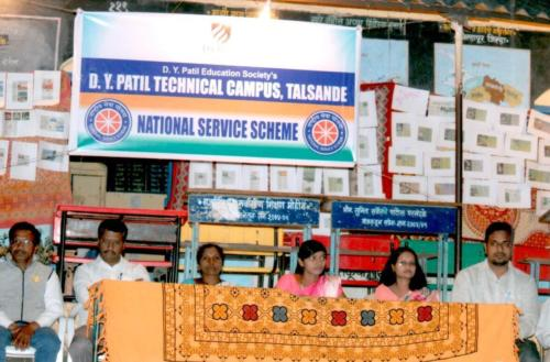 Opening ceremony of NSS  camp at Parkhandale