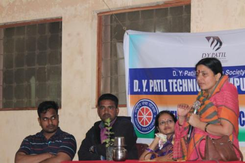 Speech delivered by Mrs.Rani Patil on Save Girls
