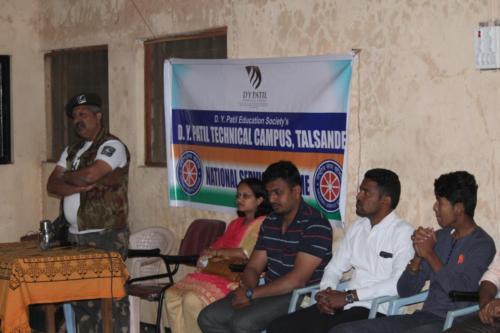 Disaster Management Program by White Army Founder – Mr.Ashok Rokade